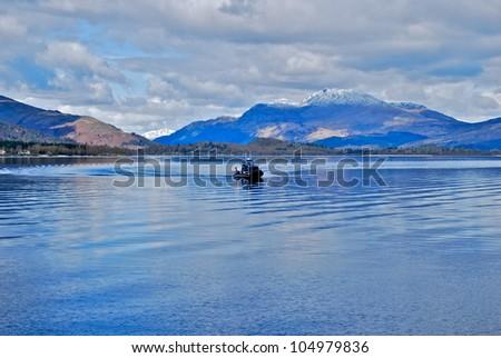 Loch Lomond - stock photo