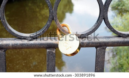 lock - stock photo