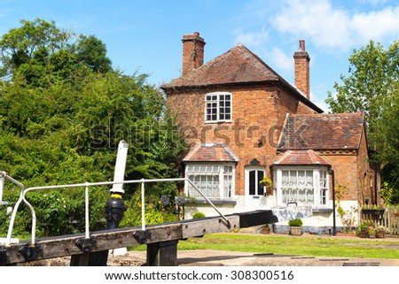 Lock keeper's House Grand Union Canal at Hatton, Warwickshire