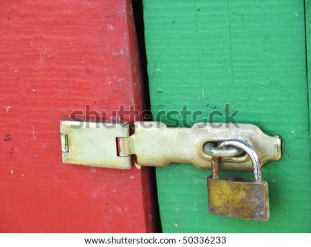 Locked - stock photo