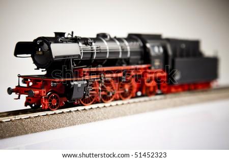 Locomotive Model - stock photo