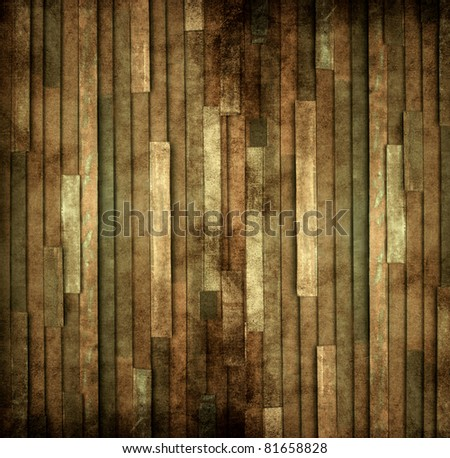 Log wood background - stock photo