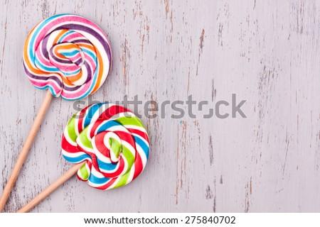 lollipop candy - stock photo