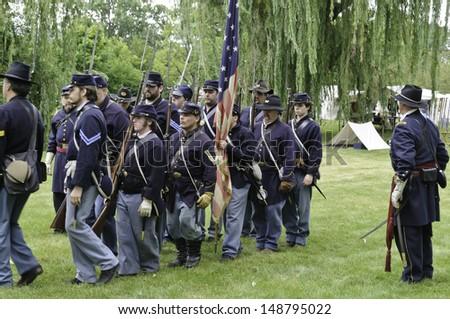 American Civil War Reenactment Groups