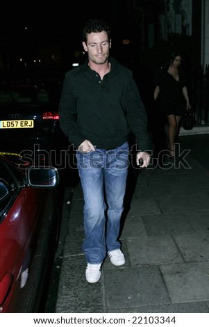LONDON - 23 APRIL: Dean Gaffney  at Nikki Grahame's birthday party at Embassy in London - 23 April 2008