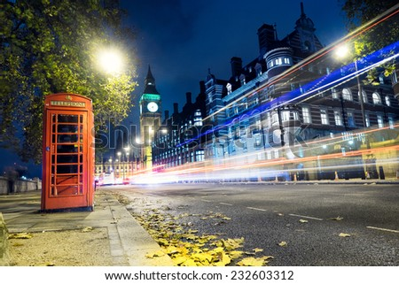 London box - stock photo