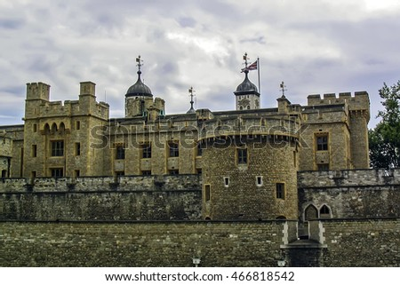 London, England - June 30, 2004: The Tower of London