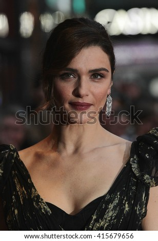 LONDON - OCT 13, 2015: Rachel Weisz attends The Lobster premiere, 59th BFI London Film Festival on Oct 13, 2015 in London