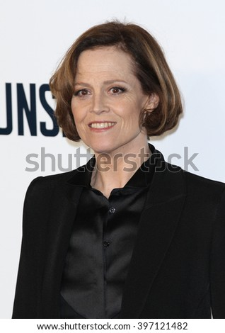 LONDON - OCT 3, 2013: Sigourney Weaver attends a special screening of The Counselor at the Odeon West End on Oct 3, 2013 in London