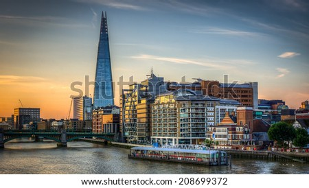 London Skyline HDR