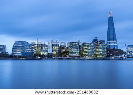 London Skyline, UK  - stock photo