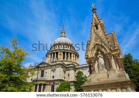Main Cupola Clock Tower Cathedral Santa Stock Photo ...