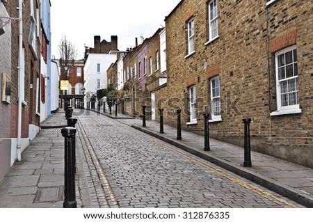 London Street Stock Photo Royalty Free 312876335
