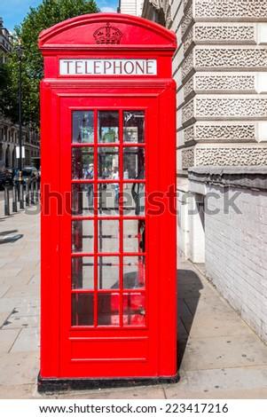 London telephone - stock photo