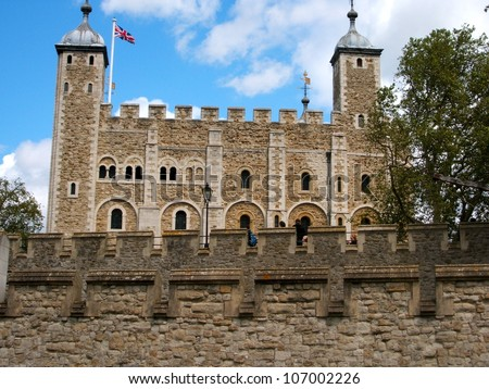 London - The Tower of London - stock photo