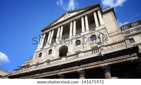 London, UK - Bank of England building