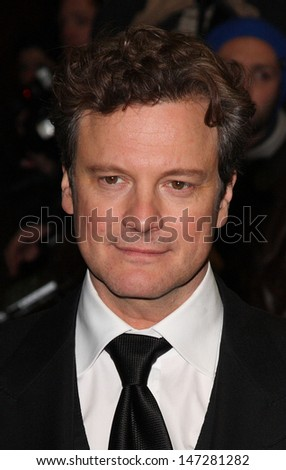 London, UK  .  Colin Firth at the  UK Premiere of   A Single Man  at the Curzon, Mayfair, London . 1st February 2010
