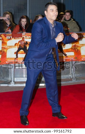 LONDON, UK - MAR. 20: Ricky Norwood arrives at the international premier of Street Dance 2 at the O2 in London on the MAR 20, 2012 in London, UK