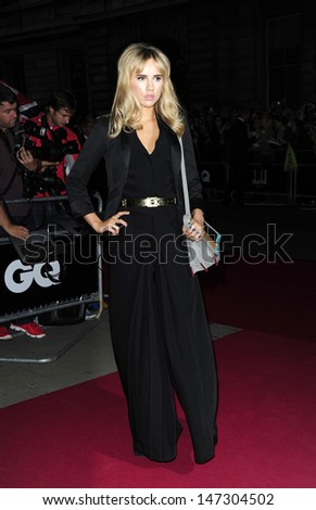 London, UK. Suki Waterhouse at the GQ Men of the Year Awards at the Royal Opera House, Covent Garden. 4th September 2012.