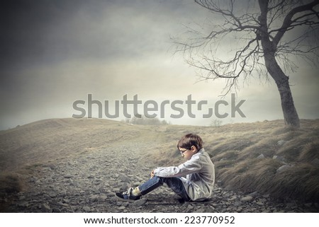 Loneliness  - stock photo