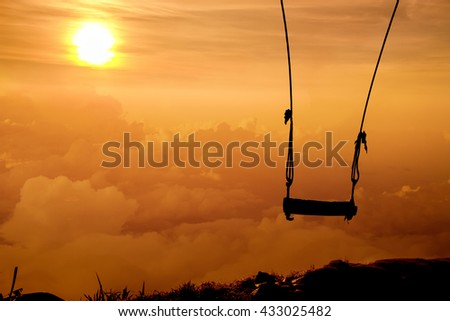 loneliness, solitariness,privacy, retreat, seclusion, solitude,desolation : Concept - stock photo