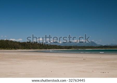 long beach, vancouver island - stock photo