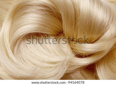 long blond hair as background