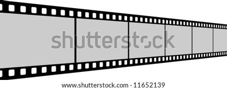 Long Film Strip With Six Frames, 35mm Format, Perspective, Background