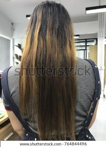 Damaged Hair Stock Photo 716018764 - Shutterstock