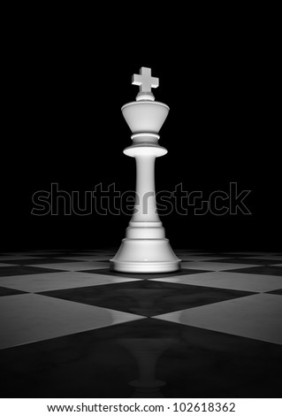 Long live the king - stock photo
