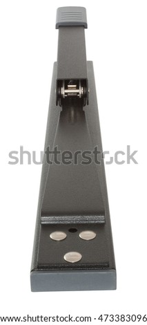 Long Reach Stapler Rear View isolated on white with clipping path