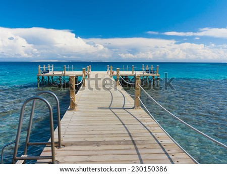 Long Way to Heaven  - stock photo