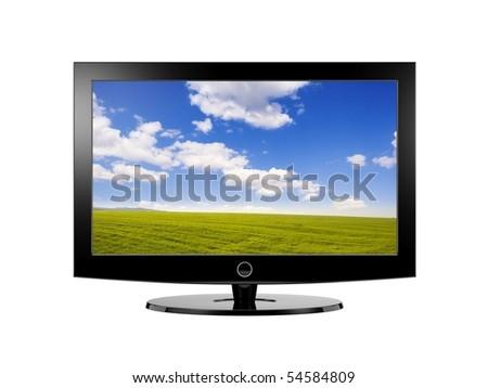 Look more TV in my portfolio - stock photo
