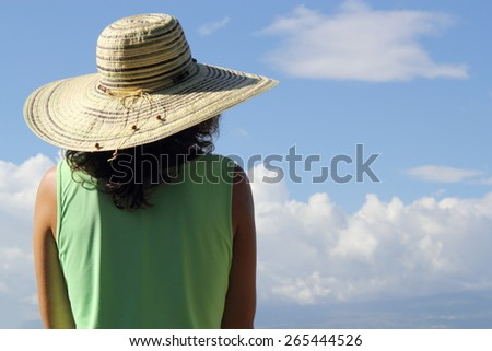 Looking Up - stock photo