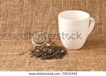 Loose leaf tea - stock photo