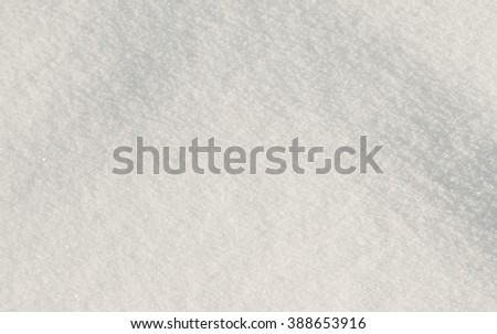 loose snow background - stock photo