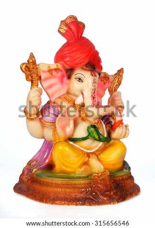 Lord Ganesha - stock photo