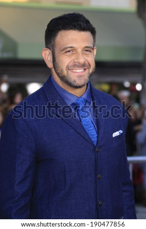 "LOS ANGELES - APR 28:  Adam Richman at the ""Neighbors"" Premiere at Village Theater on April 28, 2014 in Westwood, CA"