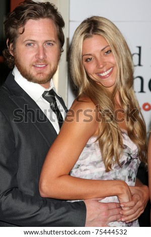 LOS ANGELES - APR 15:  Aj Buckley and his girlfriend attending the 2011 Toyota Grand Prix Charity Ball at Westin Long Beach on April 15, 2011 in Long Beach, CA. - stock photo