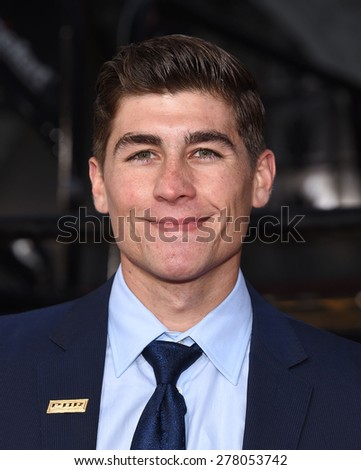 "LOS ANGELES - APR 06:  Brett Edwards arrives to the ""The Longest Ride"" Los Angeles Premiere  on April 06, 2015 in Hollywood, CA                 - stock photo"