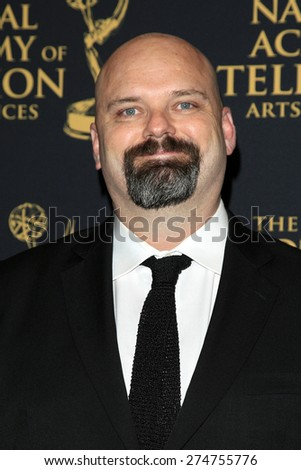 LOS ANGELES - APR 24: Chris Neuhahn at The 42nd Daytime Creative Arts Emmy Awards Gala at the Universal Hilton Hotel on April 24, 2015 in Los Angeles, California - stock photo