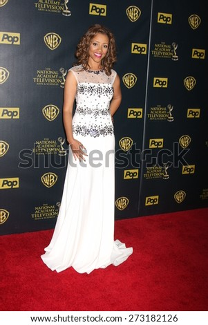 LOS ANGELES - APR 26:  Chrystee Pharris at the 2015 Daytime Emmy Awards at the Warner Brothers Studio Lot on April 26, 2015 in Los Angeles, CA
