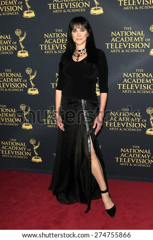 LOS ANGELES - APR 24: Connie Selleca at The 42nd Daytime Creative Arts Emmy Awards Gala at the Universal Hilton Hotel on April 24, 2015 in Los Angeles, California - stock photo
