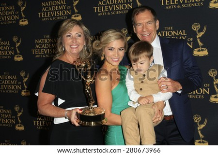 LOS ANGELES - APR 24: Elizabeth Ashley at The 42nd Daytime Creative Arts Emmy Awards Gala at the Universal Hilton Hotel on April 24, 2015 in Los Angeles, California - stock photo