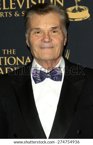 LOS ANGELES - APR 24: Fred Willard at The 42nd Daytime Creative Arts Emmy Awards Gala at the Universal Hilton Hotel on April 24, 2015 in Los Angeles, California - stock photo