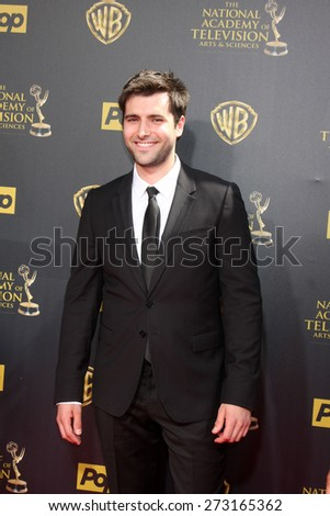 LOS ANGELES - APR 26:  Freddie Smith at the 2015 Daytime Emmy Awards at the Warner Brothers Studio Lot on April 26, 2015 in Burbank, CA - stock photo