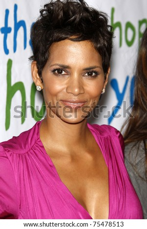 LOS ANGELES - APR 17:  Halle Berry attending the 2011 Silver Rose Awards Gala at Beverly Hills Hotel on April 17, 2011 in Beverly Hills, CA - stock photo
