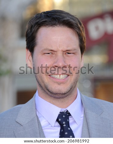 "LOS ANGELES - APR 13:  Ike Barinholtz arrives to the ""Neighbors"" World Premiere  on April 28, 2014 in Westwood, CA.                 - stock photo"