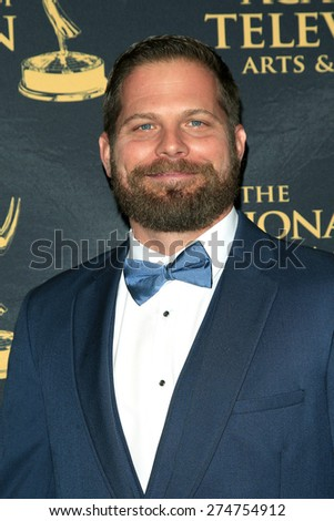 LOS ANGELES - APR 24: Jason Kolowski at The 42nd Daytime Creative Arts Emmy Awards Gala at the Universal Hilton Hotel on April 24, 2015 in Los Angeles, California - stock photo