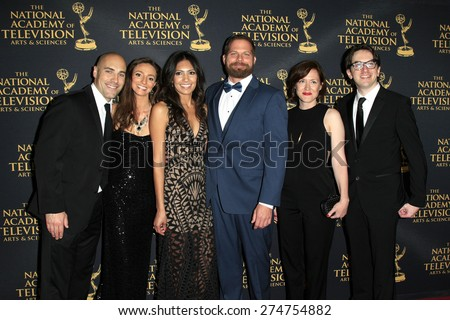LOS ANGELES - APR 24: Jason Kolowski, Tumble Leaf at The 42nd Daytime Creative Arts Emmy Awards Gala at the Universal Hilton Hotel on April 24, 2015 in Los Angeles, California - stock photo